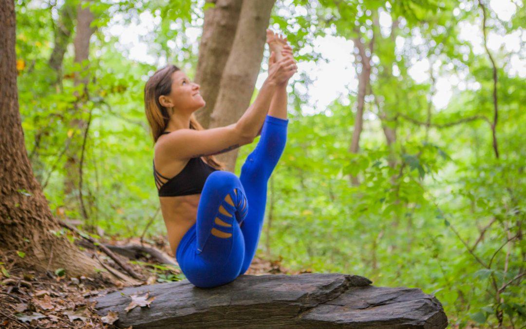 Half Lotus Navasana Difficult Yoga Posture